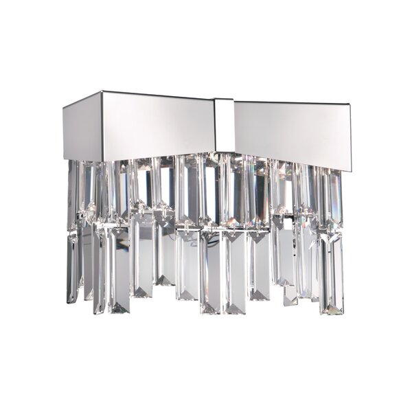 Riviera 2-Light Flush Mount by Schonbek