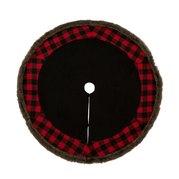 Plaid Tree Skirt by The Holiday Aisle