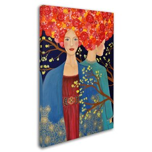'Les Ames Soeurs' Print on Wrapped Canvas by Trademark Fine Art
