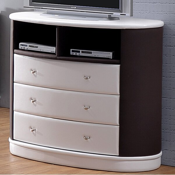 Patio Furniture Roussel 3 Drawer Chest