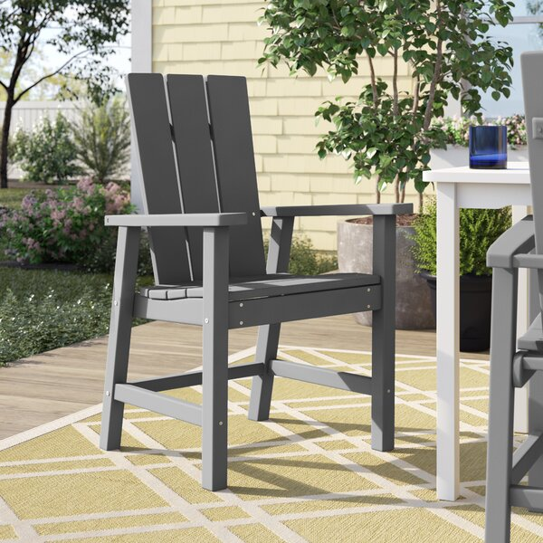 Polywood® Modern Patio Dining Chair by Sol 72 Outdoor