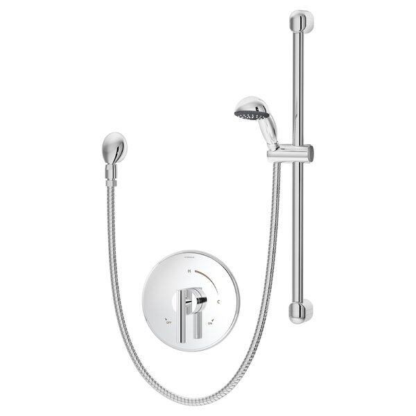 Dia Pressure Balance Hand Shower System with Lever Handle by Symmons