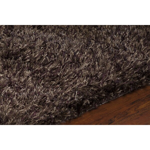 Rogalski Wool Brown Area Rug by Wrought Studio
