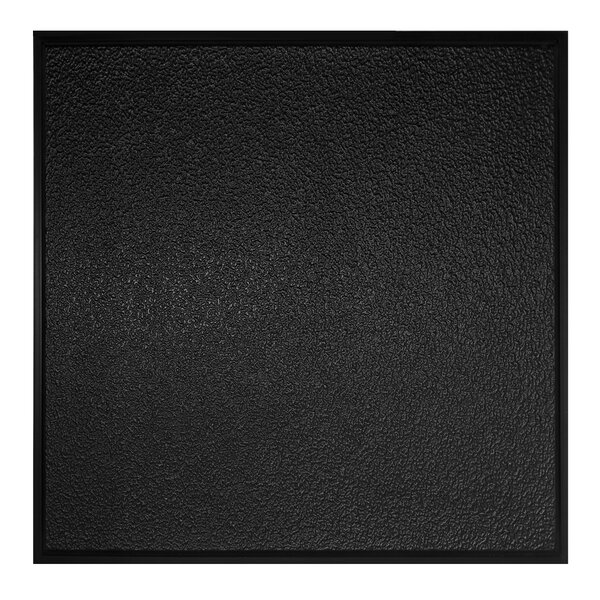 2 ft. x 2 ft. Drop-In Ceiling Tile in Black (Set o