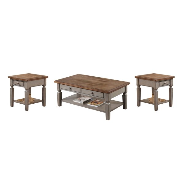 Murtaugh 3 Piece Coffee Table Set By August Grove