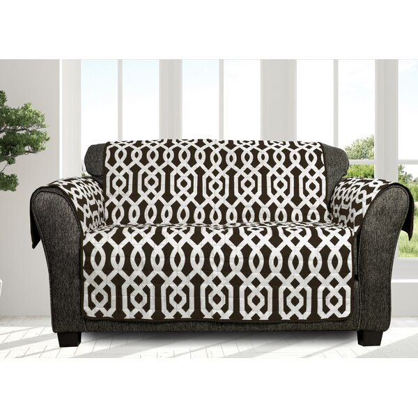 Islip Printed Box Cushion Loveseat Slipcover By Alcott Hill