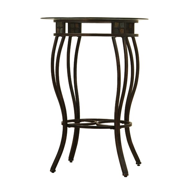Wetzler Counter Height Pub Table by Fleur De Lis Living