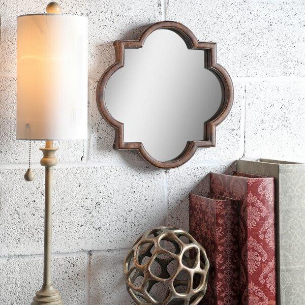 Adamson Polystone Quatrefoil Mirror Vanity Tray by Mercer41