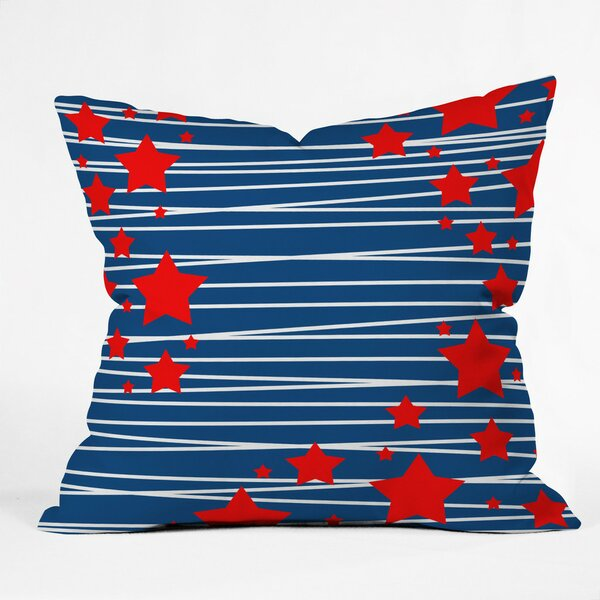 Doering Spangled Outdoor Throw Pillow by Brayden Studio