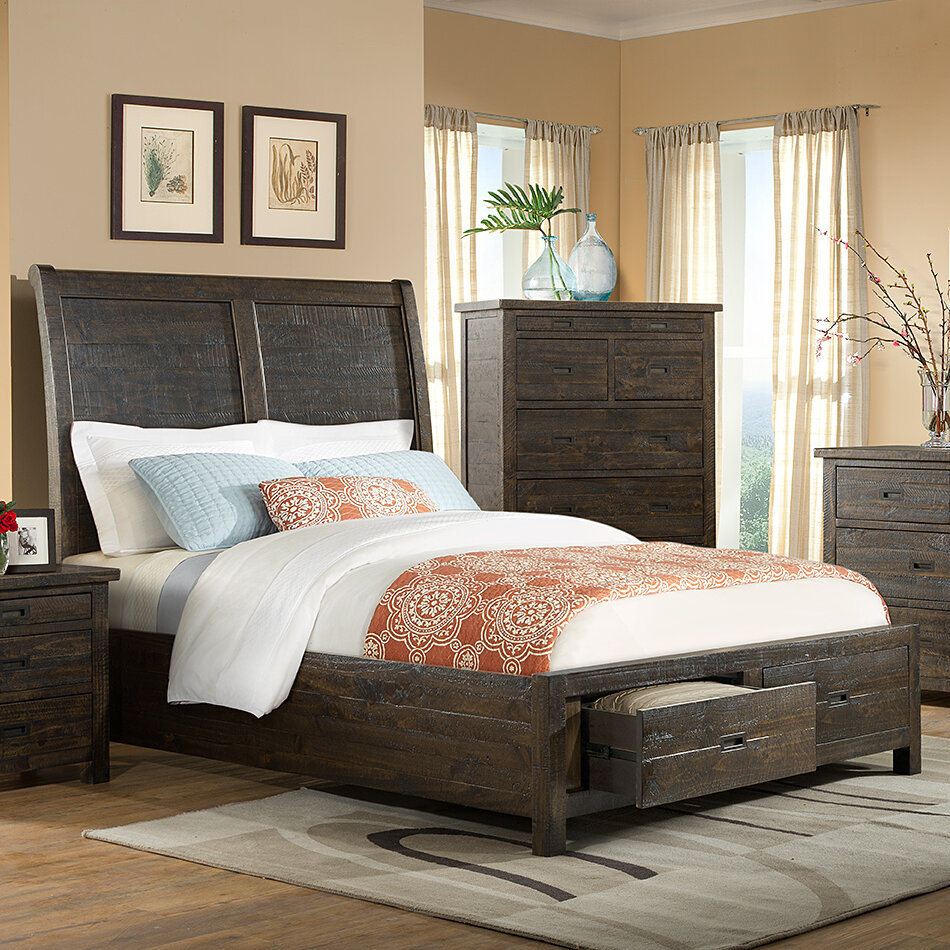 vilohomeinc glenwood pines panel bed wayfair