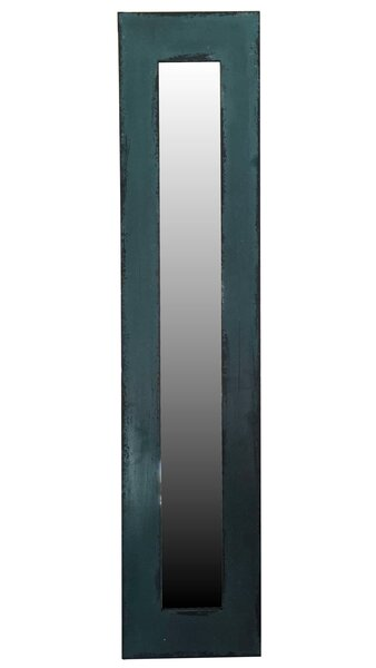 Contemporary Rectangle Wood Framed Wall Mirror by 17 Stories