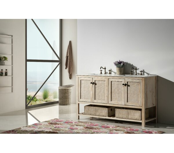 Oscar 60 Bathroom Vanity Set by Bay Isle Home