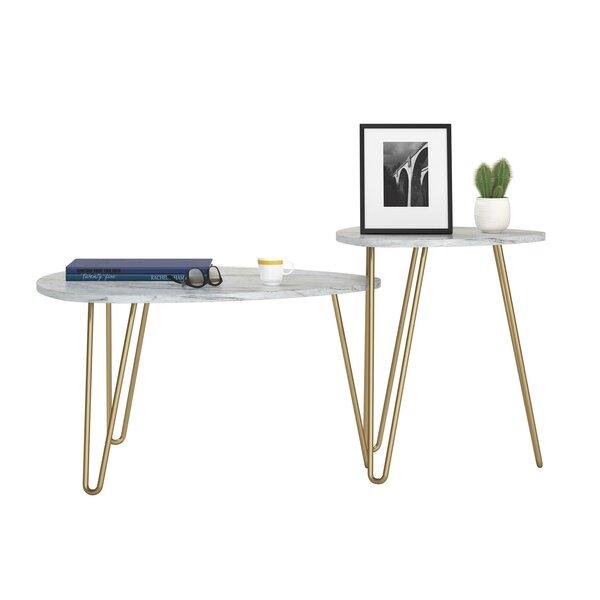 Athena 3 Leg Nesting Table by Novogratz Novogratz