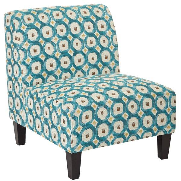 Abramowitz Slipper Chair by Winston Porter