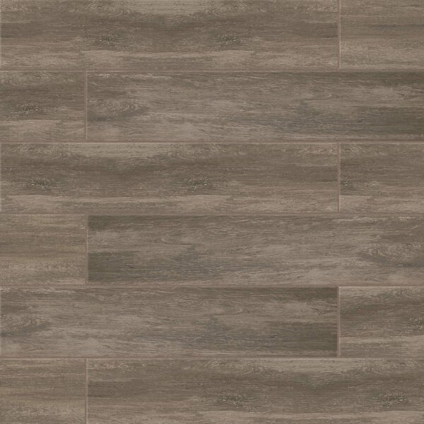 Sun Valley 8 x 36 Porcelain Wood Tile in Mountain by Grayson Martin