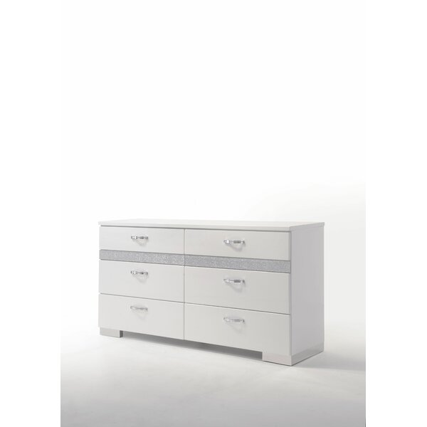 Lauer 6 Drawer Double dresser by Everly Quinn