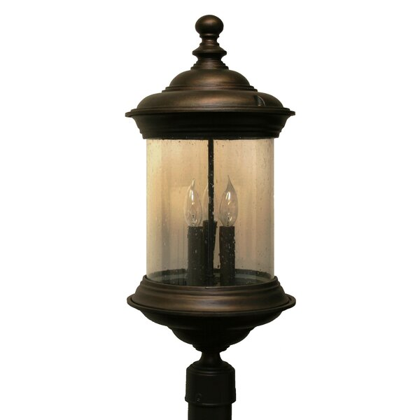 Phillipstown 3 Light 24.5 Post Lantern by Alcott Hill