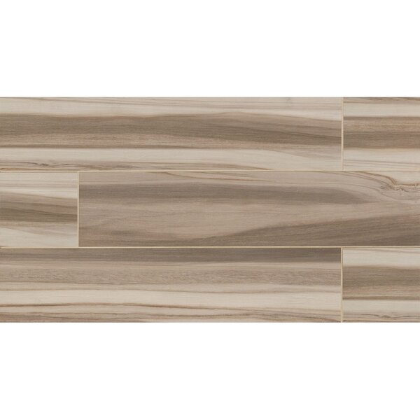 Nantucket 8 x 36 Porcelain Wood Tile in Blonde by Grayson Martin