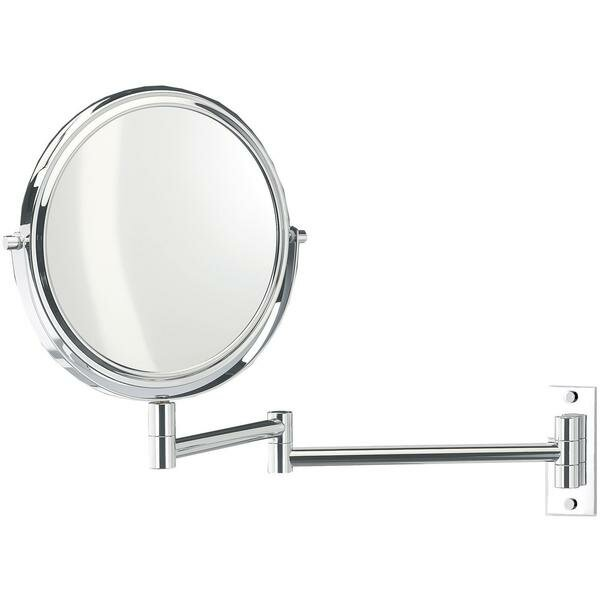 Kostka 2-Arms Swivel Makeup/Shaving Mirror by Symple Stuff