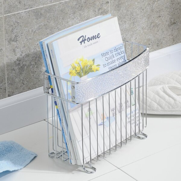 Eisenhart Newspaper and Magazine Rack by Rebrilliant