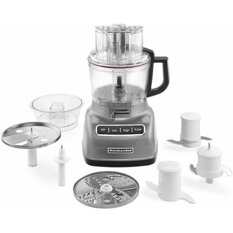 Perfect 9 Cup Food Processor With ExactSlice System And External Adjustable Lever