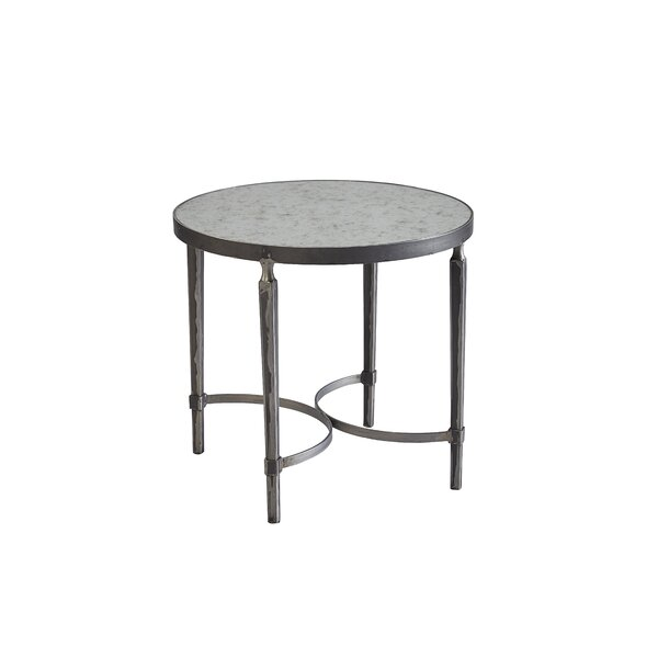 Siena End Table by 17 Stories