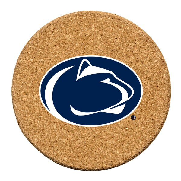 Pennsylvania State University Cork Collegiate Coaster Set (Set of 6) by Thirstystone