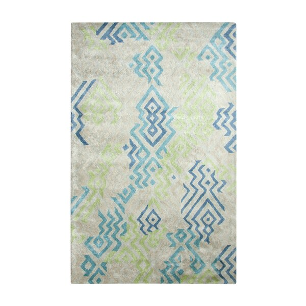 Vogue Hand Woven Blue/Gray Area Rug by Dynamic Rugs