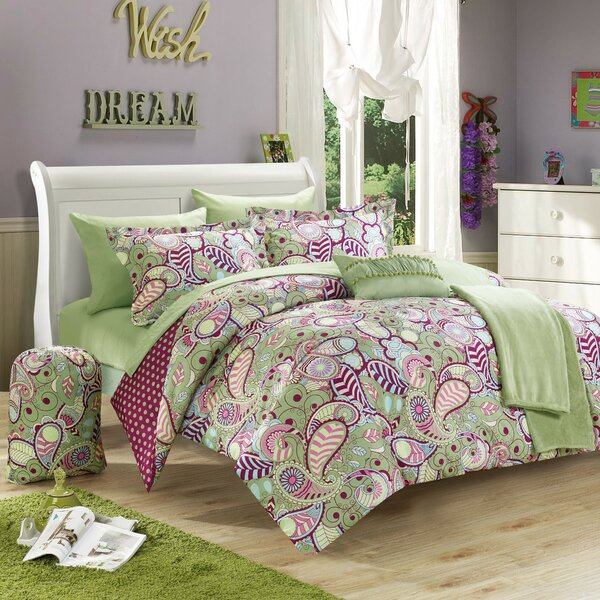 Princess 10 Piece Reversible Comforter Set by Chic Home