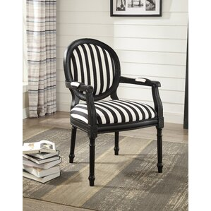 Striped Accent Chairs You Ll Love Wayfair