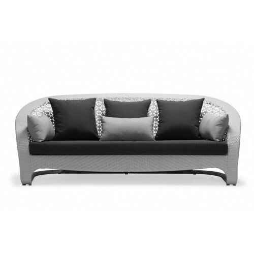 South Patio Sofa with Cushions by 100 Essentials