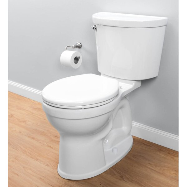 Champion Pro Right Height 1.28 GPF Round Two-Piece Toilet by American Standard