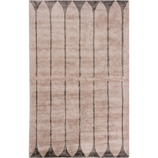 Lee-Yin Ivory Geometric Area Rug by 17 Stories