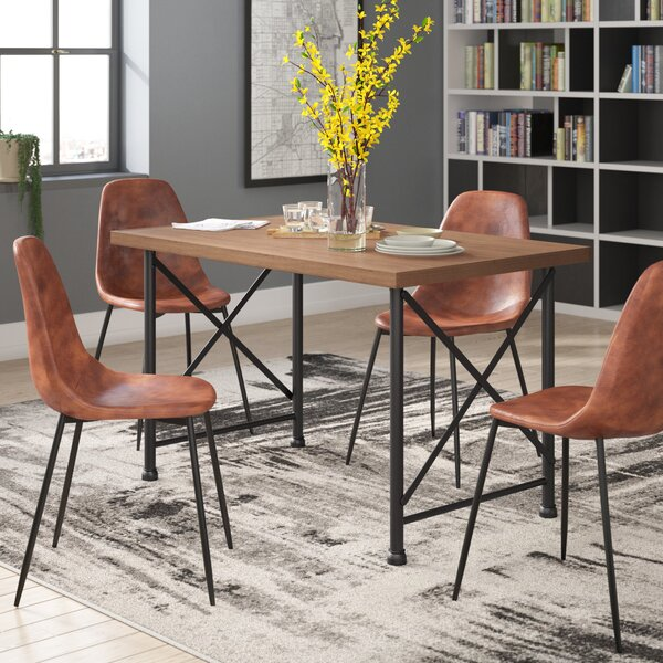 Callison Solid Wood Dining Table by Williston Forge