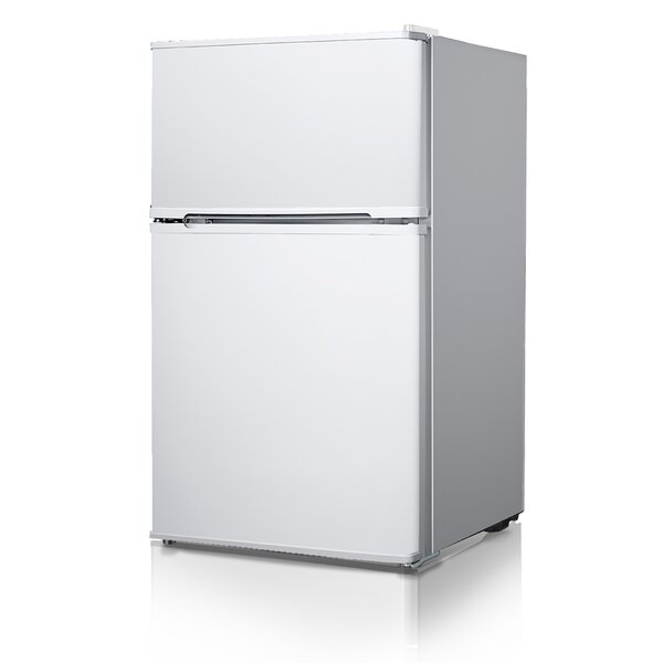 3.4 cu. ft. Compact Refrigerator with Freezer by Midea