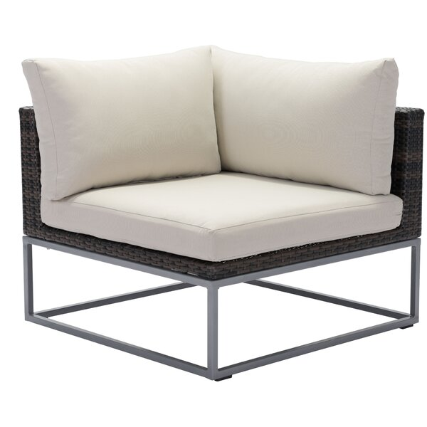 Hibbard Corner Chair with Cushion by Brayden Studio