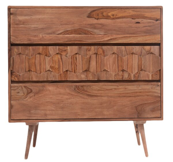 El Oro 3 Drawer Chest by Langley Street