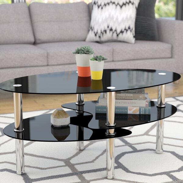 Renato Coffee Table with Magazine Rack by Latitude Run
