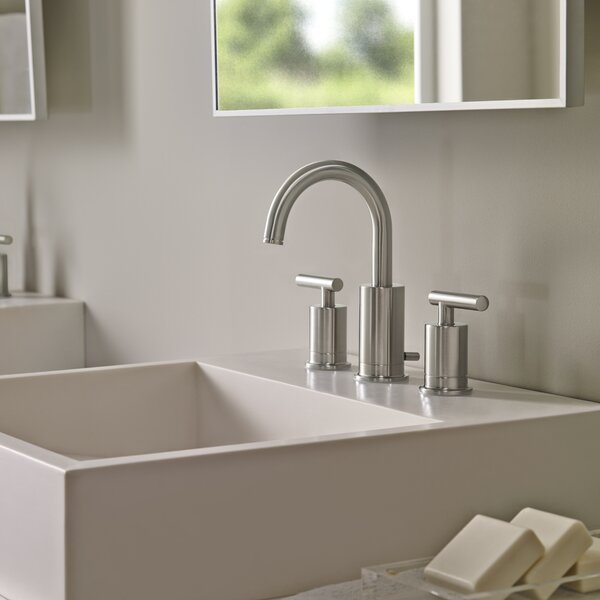 Contempra Widespread Double Handle Deck Mount Bath Faucet by Pfister