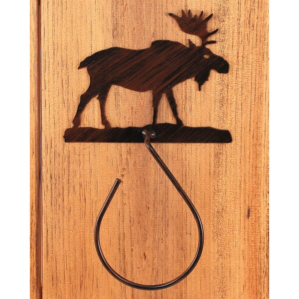 Moose 13 Wall Mounted Hand Towel Holder by Coast Lamp Mfg.