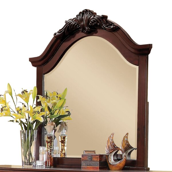 Curved Top Arched Dresser Mirror by Fleur De Lis Living