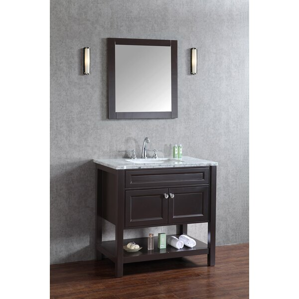 Givens 36 Single Bathroom Vanity Set with Mirror by Alcott Hill