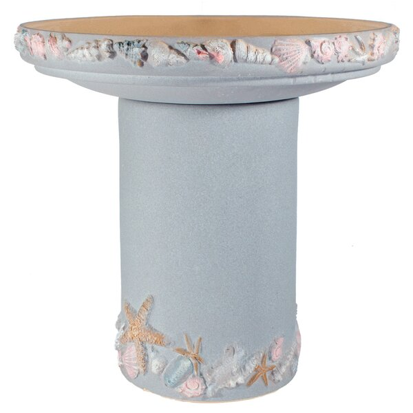 Riverstones Birdbath by Burley Clay