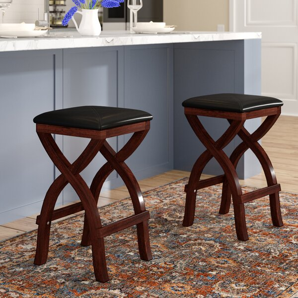Schooner X Base Stool (Set of 2) by Three Posts