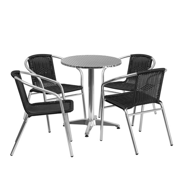 Sayreville 5 Piece Dining Set by Ebern Designs