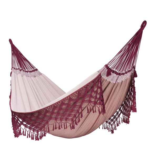 BOSSANOVA Organic Family Cotton Tree Hammock by LA SIESTA