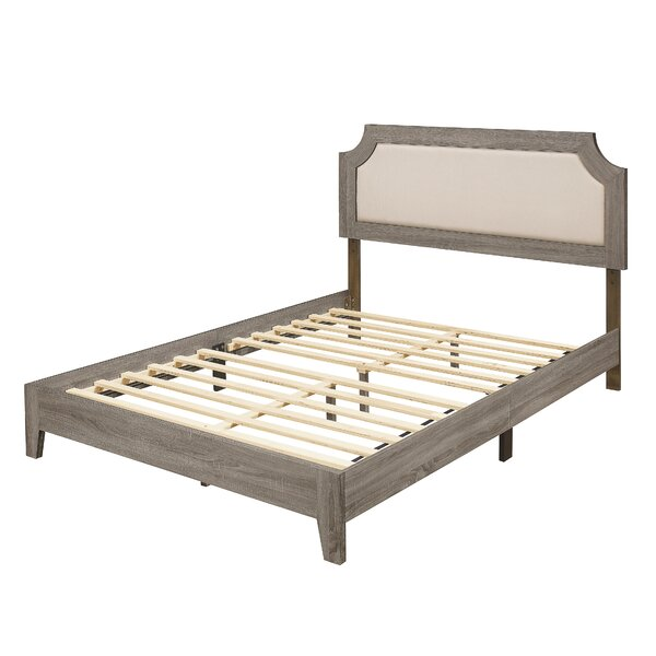 Treasa Upholstered Platform Bed by Foundry Select