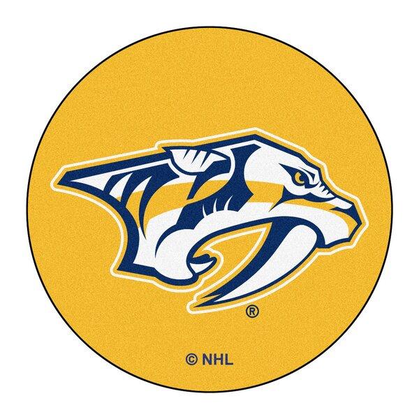 NHL - Nashville Predators Puck Mat by FANMATS