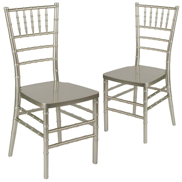 Gamble Premium Resin Chiavari Chair (Set of 2) by Everly Quinn