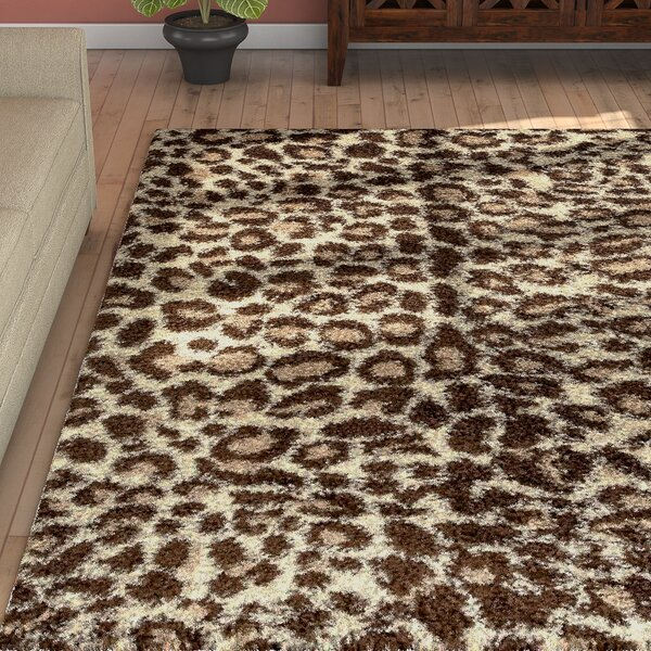 Tham Cream/Brown Indoor/Outdoor Area Rug by Bloomsbury Market